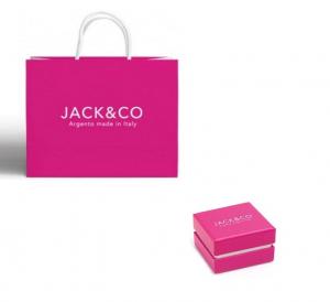 Jack & Co Orecchini Maxi Chain, Cuore