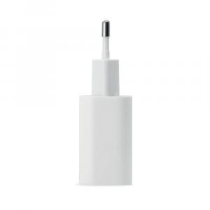 Wall Charger Alimentatore 20W con porta USB-C e cavo USB-C Lightning MFI