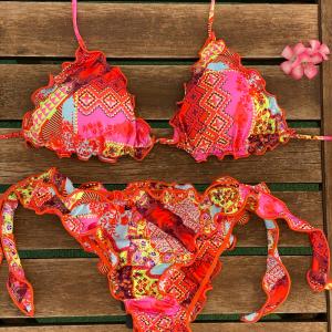 Bikini triangolo e slip nodi brasiliano regolabile Frou Frou Venture Effek