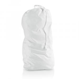 Cestino mangiapannolini in inox bianco