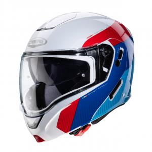 C0JB00D6#XL CASCO CABERG MODULARE HORUS SCOUT WHITE METAL/RED/BLUE/LIGHT BLUE TG: XL