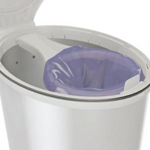 Sacchetti biodegradabili di plastica riciclata per mangiapannolino in inox