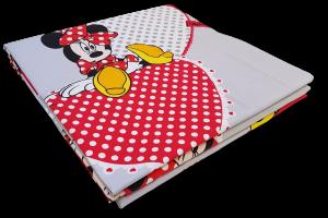 CALEFFI Disney Copriletto stampato Panama. MINNIE GIRL 1 piazza e mezza