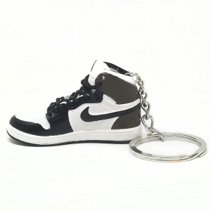 Air Jordan 1 retro high Dark Mocha portachiavi sneaker da collezione