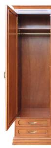 Wardrobe cabinet 1 door 2 drawers
