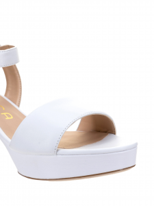 Unisa Sandalo Pelle Bianco