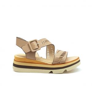 Sandalo platform cipria Keys