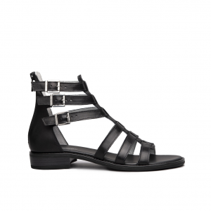 Sandalo gladiatore nero NeroGiardini