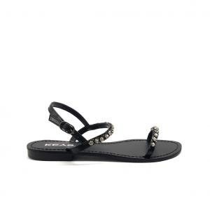 Sandalo nero Keys