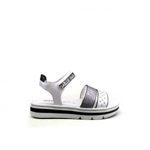 Sandalo bianco Gaelle Paris