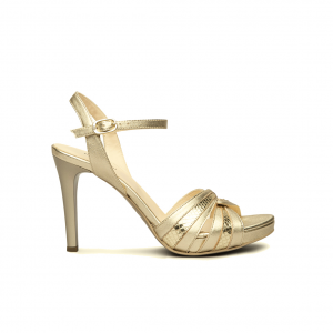 Sandalo platino NeroGiardini
