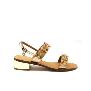 Sandalo rosegold Gardini