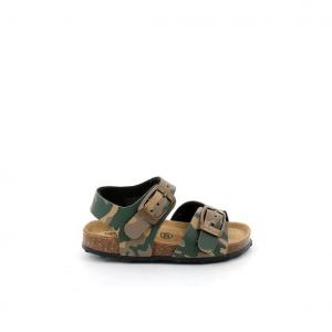 Sandalo beige/militare Grunland