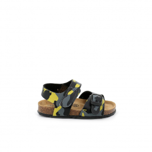 Sandalo giallo/militare Grunland