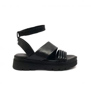 Sandalo nero Mjus