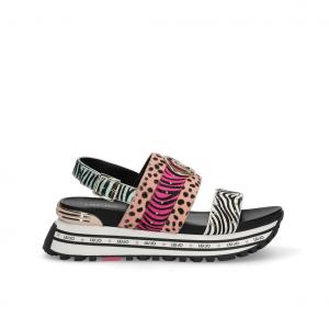 Sandalo platform animalier Liu Jo