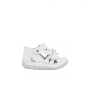 Sandalo semichiuso bianco Falcotto
