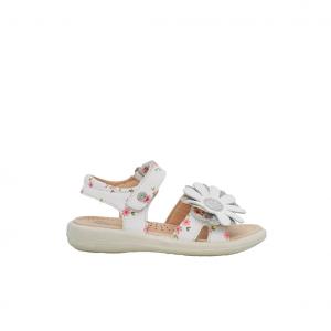Sandalo bianco con fiore Naturino