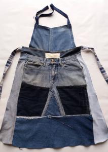 Grembiule jeans artigianale #4