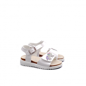 Sandalo bianco con unicorno Lelli Kelly