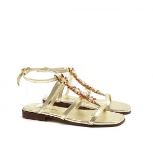 Sandalo platino Nina Capri