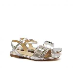 Sandalo argento Nina Capri
