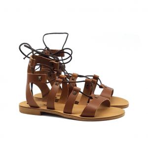 Sandalo gladiatore cuoio Keys