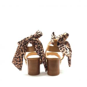 Sandalo cuoio con foulard Liu Jo