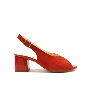 Sandalo rosso Luzzi