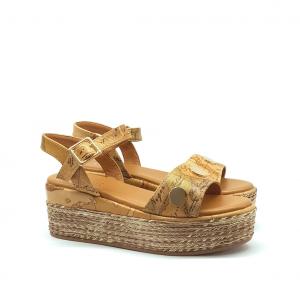 Sandalo naturale/geo 1a Classe by Alviero Martini