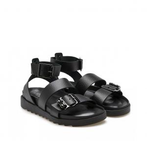 Sandalo nero Apepazza