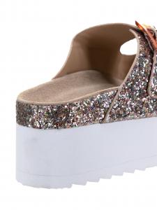 Colors Sandalo Glitter Rosa