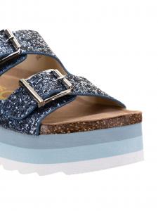 Colors Sandalo Glitter Celeste