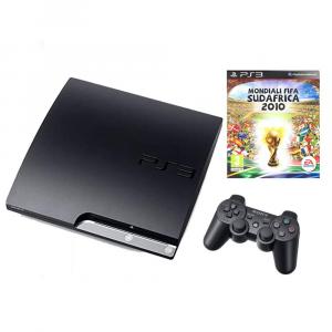 Console PS3 slim - 300 GB + 1 gioco (usata)