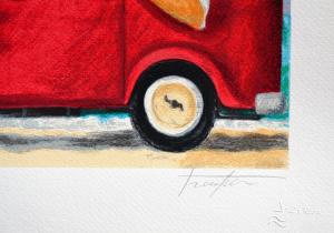 Procopio Pino Serigrafia polimaterica Formato cm 35x50