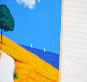 Mondelli Giò  Acrilico su tavola Formato cm 25x25