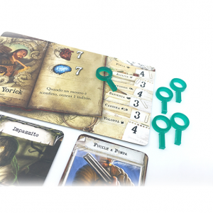 Mansions of Madness 2nd Ed. Clue Tokens Set x 26