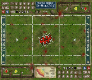 Blood Bowl 7s Pitch - Fantasy Football Pitch - Star Pitch