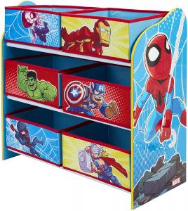 Contenitore Porta Giochi Avengers Spiderman 60x63.50x30 cm