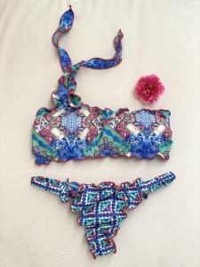 Bikini fascia monospalla e slip brasiliano fisso Venture Effek