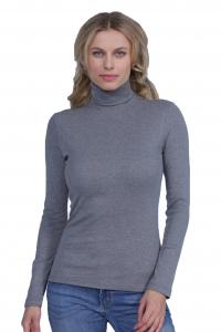 Dolcevita donna manica lunga cotone invernale BASIC COTTON