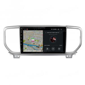 ANDROID autoradio navigatore per Kia Sportage 2018 2019 2020 CarPlay Android Auto GPS USB WI-FI Bluetooth 4G LTE