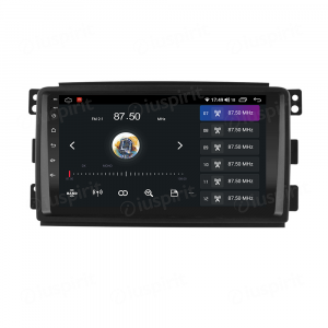 ANDROID autoradio navigatore per Smart Fortwo W451 2006-2010 CarPlay Android Auto GPS USB WI-FI Bluetooth 4G LTE