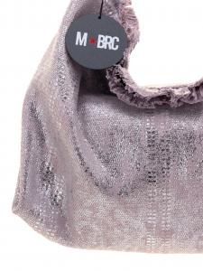 M-BRC  Borsa a Spalla Tessuto Lilla
