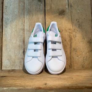 Scarpa Adidas Stan Smith Kids Bianca e Verde
