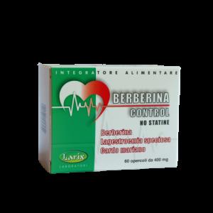 BERBERINA CONTROL NO STATINE 60 CAPSULE
