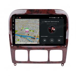 ANDROID autoradio navigatore per Mercedes Classe S W220 S280 S320 S350 S400 S430 S500 S600 S55, Mercedes Classe CL CarPlay Android Auto GPS USB WI-FI Bluetooth 4G LTE
