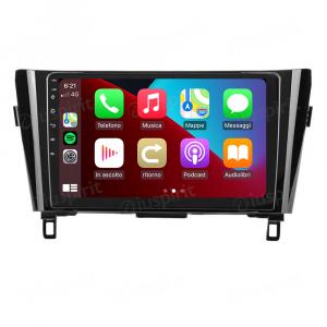 ANDROID autoradio navigatore per Nissan Qashqai Nissan X-Trail Nissan Rogue 2014-2020 con telecamere 360° o navigatore di serie CarPlay Android Auto GPS USB WI-FI Bluetooth 4G LTE