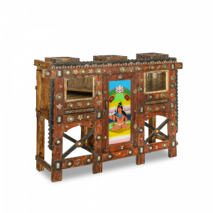 Baule nuziale / Credenza in legno di teak