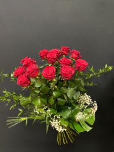 Mazzo di rose rosse a gambo lungo - Scegli il numero di rose che vuoi